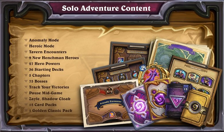 Hearthstone: Year of The Dragon Solo Adventure Content