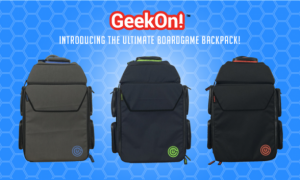 Have No Fear; Ultimate Boardgame Backpack is Here!